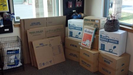 Moving Supplies at North Empire Storage