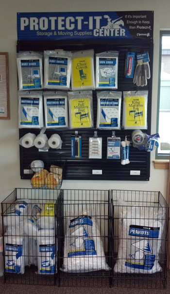 Storage Units and Moving Supplies